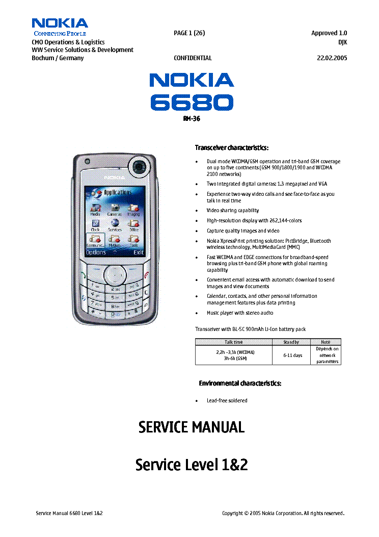 nokia 6680 rm 36 l12 service manual download schematics eeprom rh elektrotanya com nokia 1680 manual 1-17 Nokia 6230I